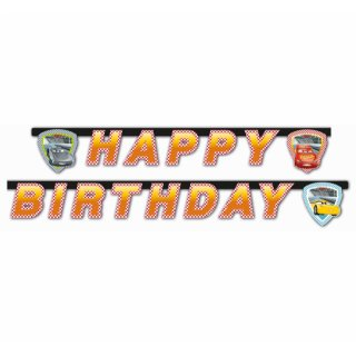 "Banner ""Cars 3 - Happy Birthday"""
